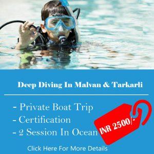 Deep Diving in Malvan and Tarkarli.