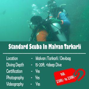 Standard Scuba In Malvan Tarkarli